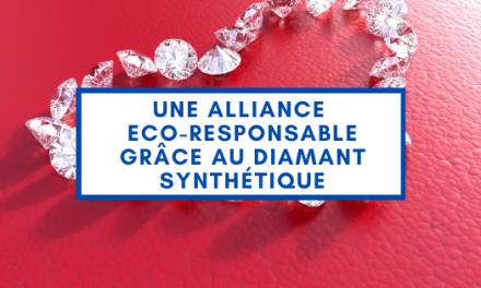 Une Alliance eco-responsable grâce au diamant synthétique